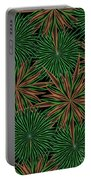 Dizzy Green Paper Portable Battery Charger