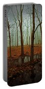 Do We Dare Go Into The Woods Portable Battery Charger by Karol Livote