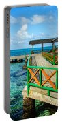 Dock And Tropical Water Portable Battery Charger