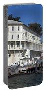 Dock At Alcatraz Island Portable Battery Charger