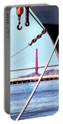 Docked In San Francisco Bay Portable Battery Charger