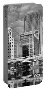Docklands London Mono Portable Battery Charger