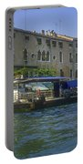 Docks On The Grand Canal Portable Battery Charger