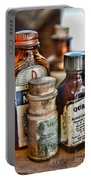 Doctor The Mercurochrome Bottle Portable Battery Charger by Paul Ward