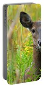 Doe In Morning Dew Portable Battery Charger
