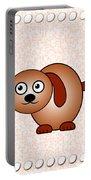 Dog - Animals - Art For Kids Portable Battery Charger by Anastasiya Malakhova