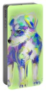 Dog Cute Puppy Portable Battery Charger
