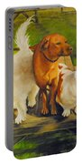 Dog Friends Portable Battery Charger