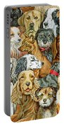 Dog Spread Portable Battery Charger