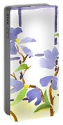 Dogwood In The Window Portable Battery Charger