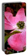 Dogwood Shows Pink Portable Battery Charger