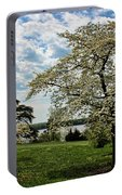 Dogwoods In Summer Portable Battery Charger