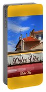 Dolce Vita Cafe In Saint-raphael France Portable Battery Charger