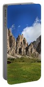 Dolomites In Badia Valley  Portable Battery Charger