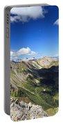 Dolomites Landscape On Summer Portable Battery Charger