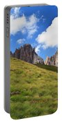 Dolomites On Summer Portable Battery Charger
