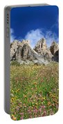 Dolomiti - Flowered Meadow  Portable Battery Charger