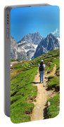 Dolomiti - Hiking In Contrin Valley Portable Battery Charger