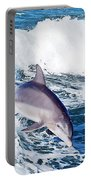Dolphins Jumping Portable Battery Charger