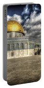 Dome Of The Rock Closeup Hdr Portable Battery Charger