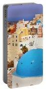 Domes Of Santorini Portable Battery Charger