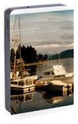 Domino At Alderbrook On Hood Canal Portable Battery Charger