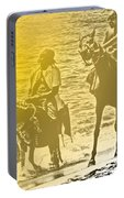 Don Quixote Rides Again Portable Battery Charger