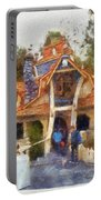 Donalds Boat Disneyland Toon Town Photo Art 02 Portable Battery Charger