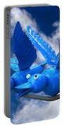 Donna's 1st Blue Bird Flight Portable Battery Charger