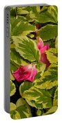 Donna's Rose Petals Portable Battery Charger