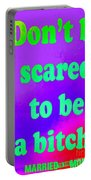 Don't Be Scared Portable Battery Charger