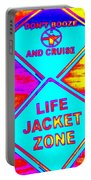 Don't Booze And Cruise Portable Battery Charger