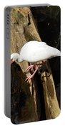 White Ibis Bird Portable Battery Charger