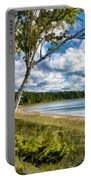 Door County Europe Bay Birch Portable Battery Charger
