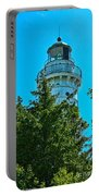 Door County Wi Lighthouse Portable Battery Charger