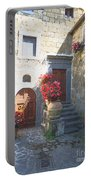 Doors In Bagnoregio Portable Battery Charger