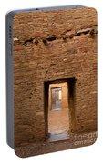 Doorways In Pueblo Bonito Portable Battery Charger