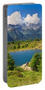 Doss Dei Gembri Lake In Pejo Valley Portable Battery Charger