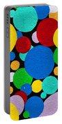 Dot Graffiti Portable Battery Charger