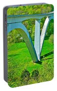 Double-arched Bridge Spanning Birdsong Hollow At Mile 438 Of Natchez Trace Parkway-tennessee Portable Battery Charger