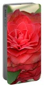 Double Blossom Camelias Portable Battery Charger
