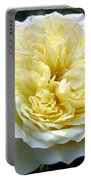 Double Cream Rose Portable Battery Charger