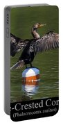 Double Crested Cormorant Portable Battery Charger