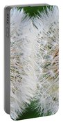 Double Dandelion Wishes Portable Battery Charger