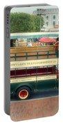 Double Decker Bus Main Street Disneyland 02 Portable Battery Charger