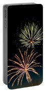 Double Fireworks Blast Portable Battery Charger