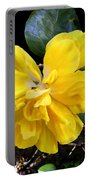 Double Hibiscus Costa Rica Portable Battery Charger