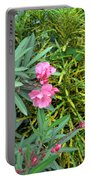 Double Oleander Portable Battery Charger