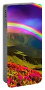 Double Rainbow Portable Battery Charger