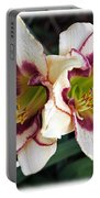 Double The Bloom Portable Battery Charger